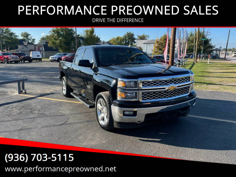 2014 Chevrolet Silverado 1500 for sale at PERFORMANCE PREOWNED SALES in Conroe TX