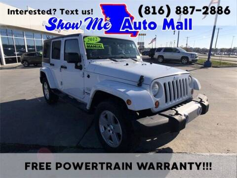 2012 Jeep Wrangler Unlimited for sale at Show Me Auto Mall in Harrisonville MO