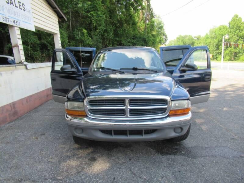 2001 Dodge Dakota for sale at Mc Calls Auto Sales in Brewton AL