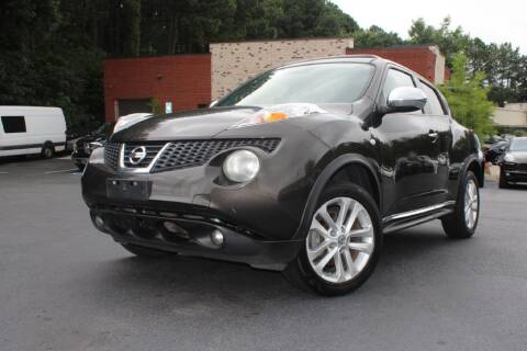2012 Nissan JUKE for sale at Atlanta Unique Auto Sales in Norcross GA
