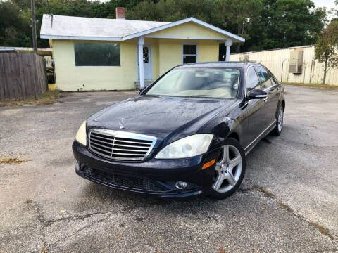 2007 Mercedes-Benz S-Class for sale at Louie's Auto Sales in Leesburg FL