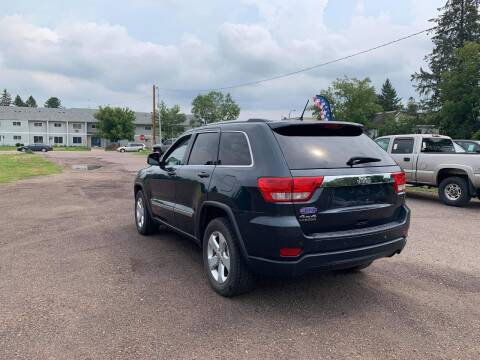 2013 Jeep Grand Cherokee for sale at WB Auto Sales LLC in Barnum MN