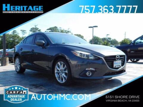 2015 Mazda MAZDA3 for sale at Heritage Motor Company in Virginia Beach VA