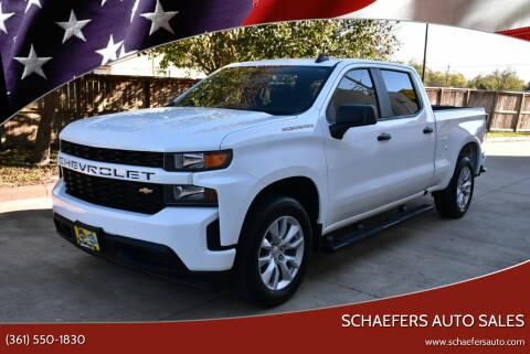 2020 Chevrolet Silverado 1500 for sale at Schaefers Auto Sales in Victoria TX