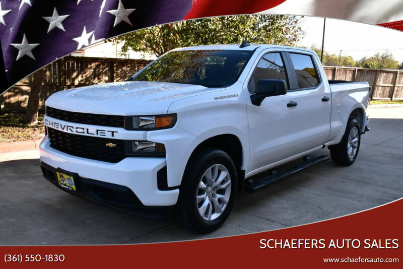 2020 Chevrolet Silverado 1500 for sale at Schaefers Auto Sales in Victoria TX
