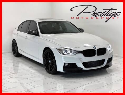 2015 BMW 3 Series for sale at Prestige Motorsport in Rancho Cordova CA