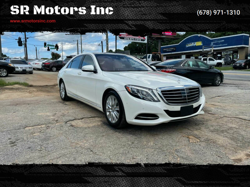 2014 Mercedes-Benz S-Class for sale at SR Motors Inc in Gainesville GA