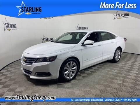 2017 Chevrolet Impala for sale at Pedro @ Starling Chevrolet in Orlando FL