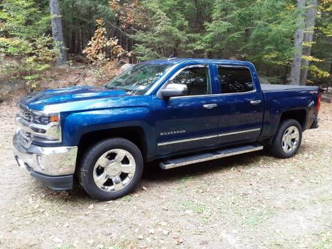 2017 Chevrolet Silverado 1500 for sale at H P M Sales in Goffstown NH