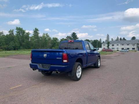 2015 RAM Ram Pickup 1500 for sale at WB Auto Sales LLC in Barnum MN