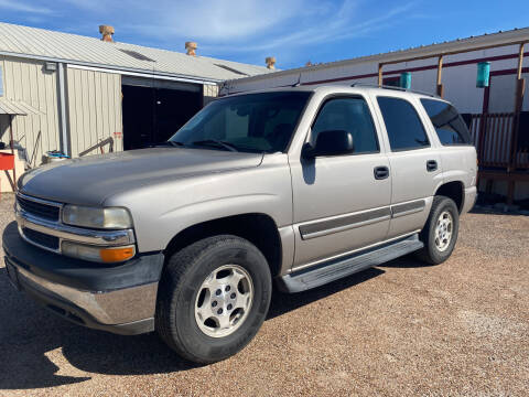 2005 Chevrolet Tahoe for sale at M & M Motors in Angleton TX