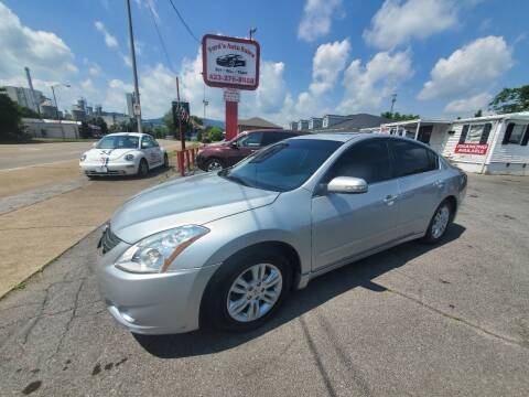 2012 Nissan Altima for sale at Ford's Auto Sales in Kingsport TN
