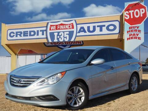 2014 Hyundai Sonata for sale at Buy Here Pay Here Lawton.com in Lawton OK