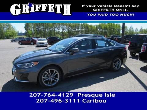 2019 Ford Fusion for sale at Griffeth Mitsubishi - Pre-owned in Caribou ME