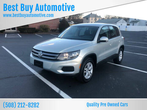 2014 Volkswagen Tiguan for sale at Best Buy Automotive in Attleboro MA