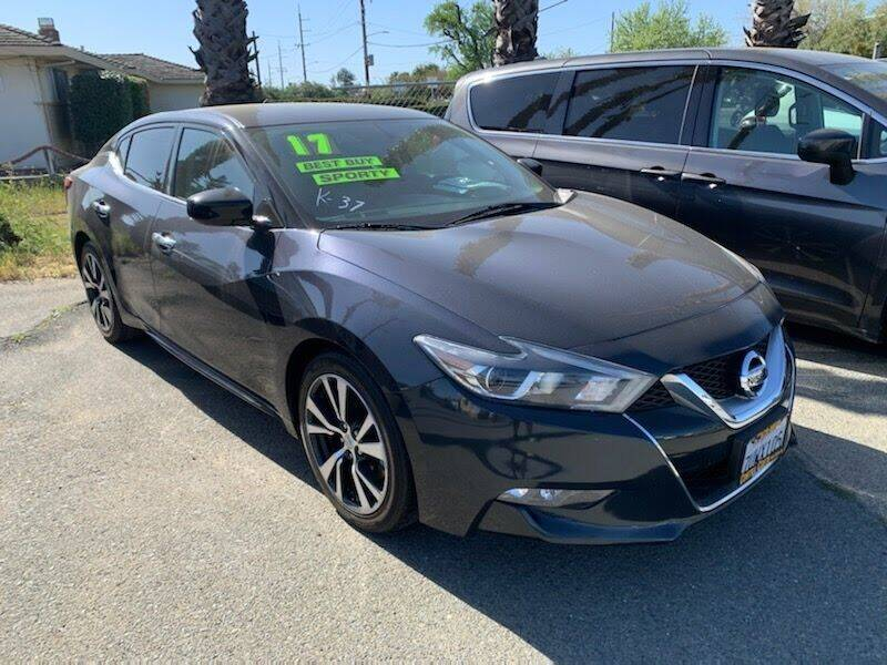 2017 Nissan Maxima for sale at Contra Costa Auto Sales in Oakley CA