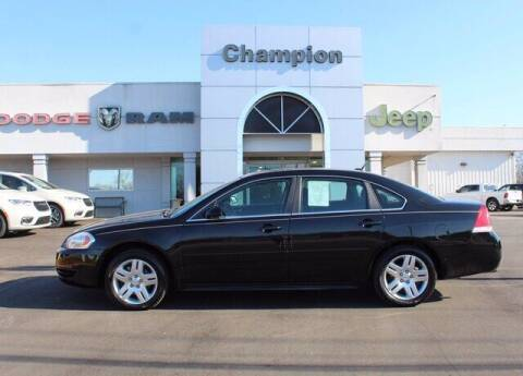 2014 Chevrolet Impala Limited for sale at Champion Chevrolet in Athens AL