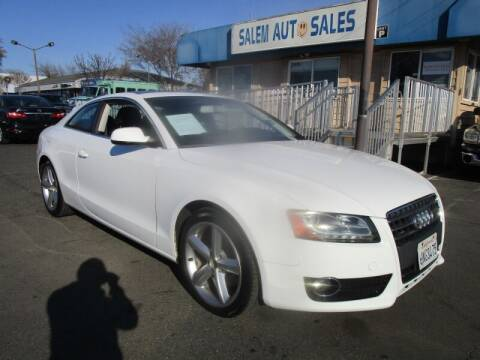 2010 Audi A5 for sale at Salem Auto Sales in Sacramento CA