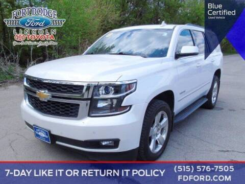 2016 Chevrolet Tahoe for sale at Fort Dodge Ford Lincoln Toyota in Fort Dodge IA
