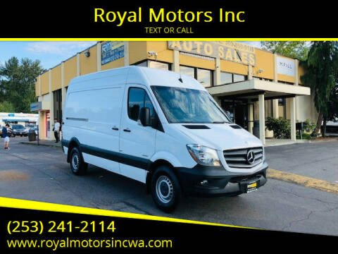 2015 Mercedes-Benz Sprinter Cargo for sale at Royal Motors Inc in Kent WA
