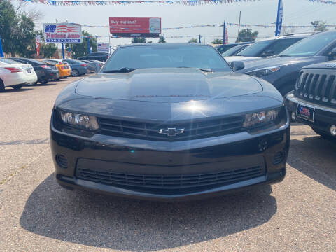 2015 Chevrolet Camaro for sale at Nations Auto Inc. II in Denver CO