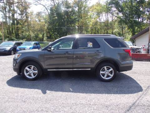 2016 Ford Explorer for sale at RJ McGlynn Auto Exchange in West Nanticoke PA