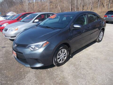 2014 Toyota Corolla for sale at Dansville Radiator in Dansville NY