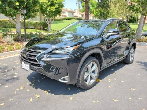 2017 Lexus NX 200t for sale at E MOTORCARS in Fullerton CA