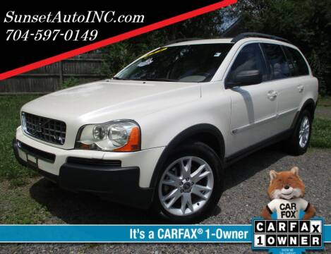 2006 Volvo XC90 for sale at Sunset Auto in Charlotte NC