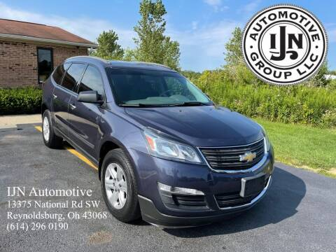 2013 Chevrolet Traverse for sale at IJN Automotive Group LLC in Reynoldsburg OH