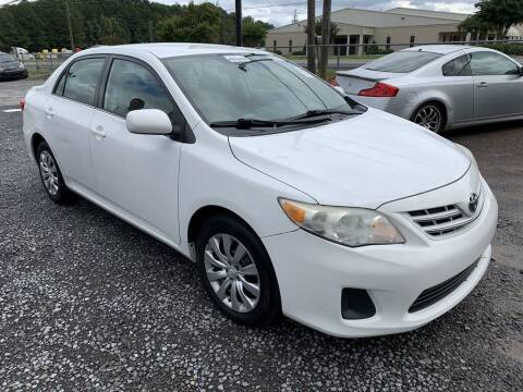 2013 Toyota Corolla for sale at J & D Auto Sales in Dalton GA