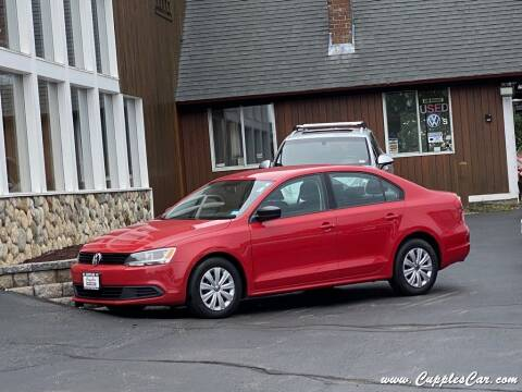 2013 Volkswagen Jetta for sale at Cupples Car Company in Belmont NH
