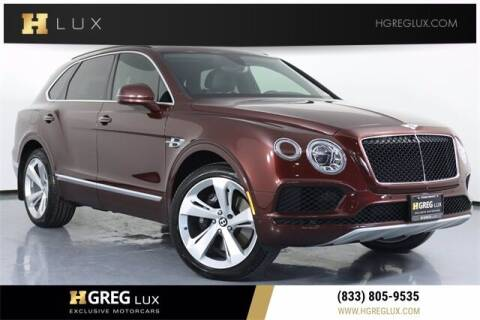 2019 Bentley Bentayga for sale at HGREG LUX EXCLUSIVE MOTORCARS in Pompano Beach FL
