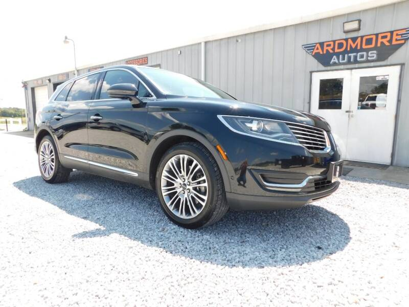 2016 Lincoln MKX for sale at ARDMORE AUTO SALES in Ardmore AL