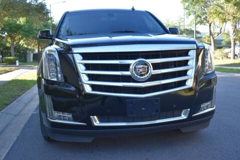 2015 Cadillac Escalade ESV for sale at Monaco Motor Group in Orlando FL