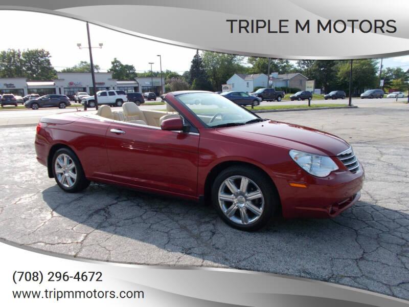 2010 Chrysler Sebring for sale at Triple M Motors in Saint John IN