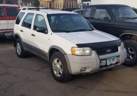 2001 Ford Escape for sale at Tower Motors in Brainerd MN