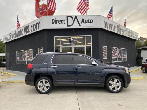 2015 GMC Terrain for sale at Direct Auto in D'Iberville MS