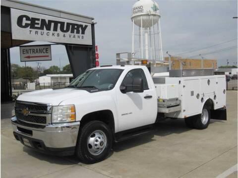 2013 Chevrolet 3500 Silverado DRW for sale at CENTURY TRUCKS & VANS in Grand Prairie TX