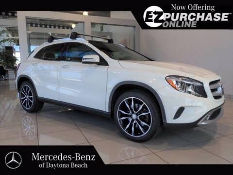 2016 Mercedes-Benz GLA for sale at Mercedes-Benz of Daytona Beach in Daytona Beach FL