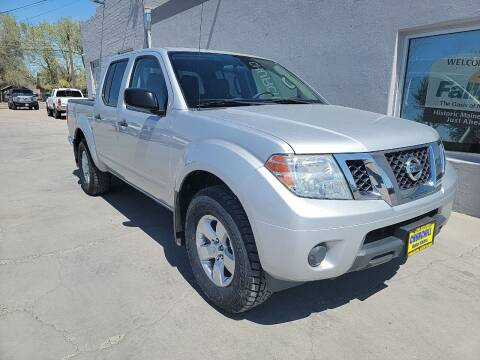 2012 Nissan Frontier for sale at CHURCHILL AUTO SALES in Fallon NV