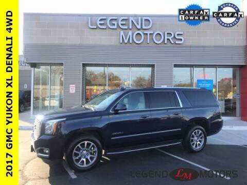 2017 GMC Yukon XL for sale at Legend Motors of Detroit - Legend Motors of Waterford in Waterford MI
