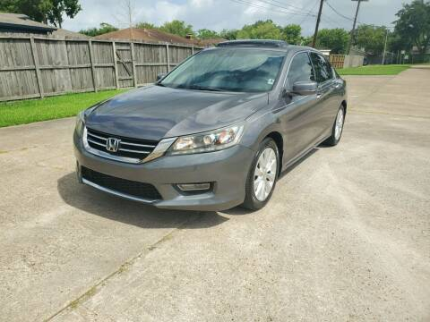2013 Honda Accord for sale at MOTORSPORTS IMPORTS in Houston TX