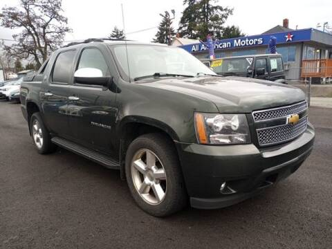 2013 Chevrolet Avalanche for sale at All American Motors in Tacoma WA