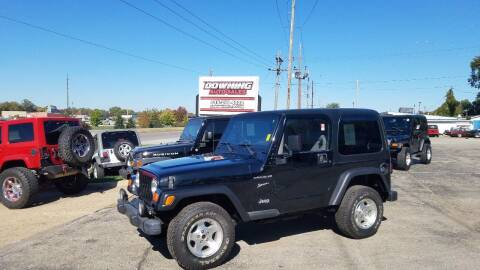2002 Jeep Wrangler for sale at Downing Auto Sales in Des Moines IA