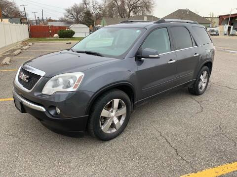 2011 GMC Acadia for sale at Quality Automotive Group Inc in Billings MT