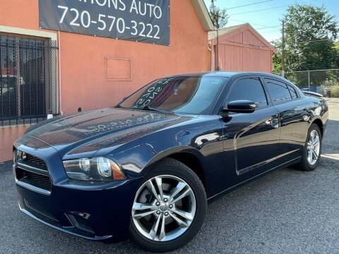 2012 Dodge Charger for sale at Nations Auto Inc. II in Denver CO