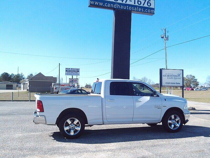 2019 RAM Ram Pickup 1500 Classic for sale at C & H AUTO SALES WITH RICARDO ZAMORA in Daleville AL