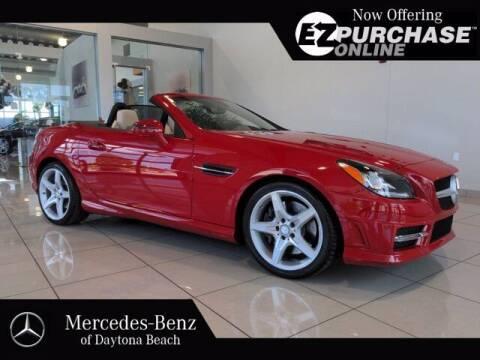 2015 Mercedes-Benz SLK for sale at Mercedes-Benz of Daytona Beach in Daytona Beach FL