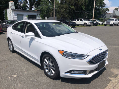 2017 Ford Fusion for sale at Chris Auto Sales in Springfield MA